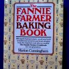 Fannie Farmer Baking Book Cookbook 1990 HCDJ