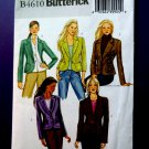 Butterick Pattern # 4610 Jacket Variations Size 14 16 18 20
