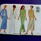 Butterick Pattern # 6546 UNCUT Misses Jacket Skirt Pants Size 12 14 16