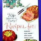 Vintage 1961 7-UP GOES TO A PARTY Recipe Booklet