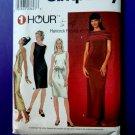 Simplicity Pattern # 9022 UNCUT Dress Stretch Knits Only Size 14 16 18 20