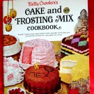 Vintage 1966 Betty Crocker's Cake and Frosting Mix Cookbook 1st Edition 1st Printing
