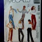 McCalls Pattern # 3285 UNCUT Misses Pants Size 12 14 16 18
