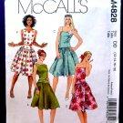 McCalls Pattern # 4828 Misses Summer Dress Size 12 14 16 18