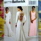 Butterick Pattern # 5779 UNCUT Misses Bridal Wedding Gown Dress Bridesmaids Size 12 14 16 18 20