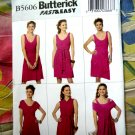 Butterick Pattern # 5606 UNCUT Misses Dress STRETCH KNITS ONLY Size Large XL XXL