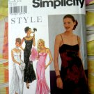 Simplicity Style Pattern # 9212 UNCUT Misses Special Occasion Dress Size 6 8 10 12 14 16
