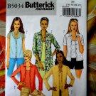 Butterick Pattern # 5034 UNCUT Misses Shirt / Tank Top Size 16 18 20 22