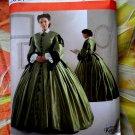 Simplicity Pattern # 2887 UNCUT Misses Civil War Dress Size 16 18 20 22 24