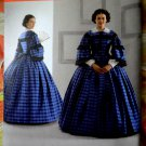 Simplicity Pattern # 3727 UNCUT Misses Civil War Dress Size 8 10 12 14