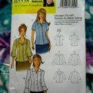 Butterick Pattern # 5538 UNCUT Woman's' Blouse Size XXL 1X 2X 3X 4X 5X