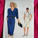Very Easy Vogue Pattern # 8879 UNCUT Misses Dress Size 14 16 18