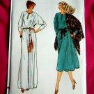Vogue Pattern # 7200 UNCUT Misses Long Short Dress Size 18 ½
