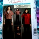 McCalls Pattern # 5941 UNCUT Misses Jacket Pants Size 16 18 20 22