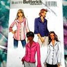 Butterick Pattern # 4659 UNCUT Misses Blouse/Shirt Size 16 18 20 22