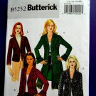 Butterick Pattern # 5252 UNCUT Misses Lined Jacket Size 14 16 18 20