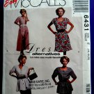 McCalls Pattern # 6431 UNCUT Misses Dress Tunic Skirt Size 16 18 20