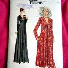 Vogue Pattern # 9922 UNCUT Misses V-Neck Dress Size 16 1/2