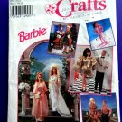 Simplicity Pattern # 8797 UNCUT Barbie Ken Wardrobe Wedding Dress Tux