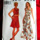 New Look Pattern # 6512 UNCUT Halter Top & Skirt Size 6 8 10 12 14 16