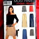 Simplicity Pattern # 0628 UNCUT Misses Skirt Pants Size 12 14 16 18