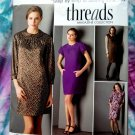 Simplicity Pattern # 2844 UNCUT Threads Misses Dress Size 12 14 16 18 20