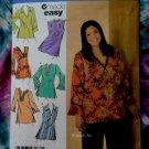 Simplicity Pattern # 4968 UNCUT Misses Woman's Tunic / Blouse Size 18 20 22 24