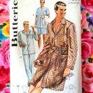 Vintage Butterick Pattern # 2306 Men's PJs Pajamas Robe Size Large