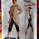 Rare Vogue Pattern # 2010 UNCUT Misses Jacket Pants Top Size 16