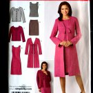 Simplicity Pattern # 2552 Misses Wardrobe Dress Cardigan Top Skirt Size 14 16 18 20 22