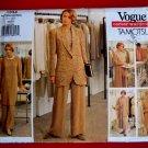 Vogue Pattern # 1334 UNCUT Misses Wardrobe Tunic Pants Top Skirt Size 6 8 10 Tamotsu