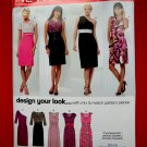 New Look Pattern # 6912 UNCUT Misses Dress Mix and Match Variations Size 4 6 8 10 12 14 16