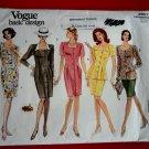 Vogue Pattern # 2857 UNCUT Misses Dress Skirt Top Variations Size 6 8 10