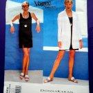 Vogue Pattern # 1569 UNCUT Misses Summer Dress Jacket Donna Karan NY Size 8 10 12