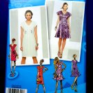 Simplicity Pattern # 0322 UNCUT Misses Dress Variations Size 4 6 8 10 12 Project Runway
