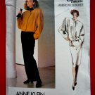 Vogue Pattern # 1661 UNCUT Misses Pants Jacket Skirt Anne Klein Size 8 American Designer