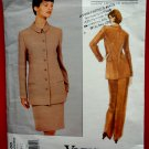 Vogue Pattern # 1508 UNCUT Misses Jacket Skirt Pants Size 8 10 12 Calvin Klein Vintage 1994
