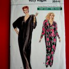 Very Easy Vogue Pattern # 7401 UNCUT Misses Caftan Size XS Small Medium