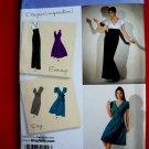 Simplicity Pattern # 2549 UNCUT Misses Dress Size 6 8 10 12 14 Long Short Skirt Variations