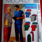 McCalls Pattern # 3253 UNCUT Mens Women Scrubs Top Pants Size XL XXL (2XL)