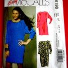 McCalls Pattern # 6198 UNCUT Misses Dress Variations in sizes 6 8 10 12