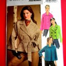 Butterick Pattern # 4865 UNCUT Coat / Jacket Unlined Raglan Sleeves Size XS Small Medium