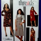 Simplicity Pattern # 3678 UNCUT Misses Dress STRETCH KNITS  Variations Size 8 10 12 14 16 Threads