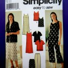 Simplicity Pattern # 7158 UNCUT Misses Wardrobe Jacket Top Pants Skirt Dress Size 16 18 20 22 24