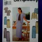 Simplicity Pattern # 9159 UNCUT Misses Summer Top Jacket Skirt Pants Size 10 12 14 16