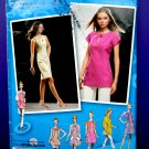 Simplicity Pattern # 2927 UNCUT Misses Dress Tunic Sleeve Variations Size 12 14 16 18 20