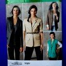 Simplicity Pattern # 2340 UNCUT Misses Lined/Unlined Boyfriend Jacket Size 6 8 10 12 14