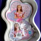 Wilton Cake Pan Barbie with Insert and Face # 2105-8910 Mattel 2002