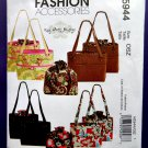McCalls Fashion Pattern # 5944 UNCUT Misses Bags Totes
