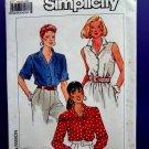 Simplicity Pattern # 9594 UNCUT Misses Summer Blouse Size 14 16 18 20